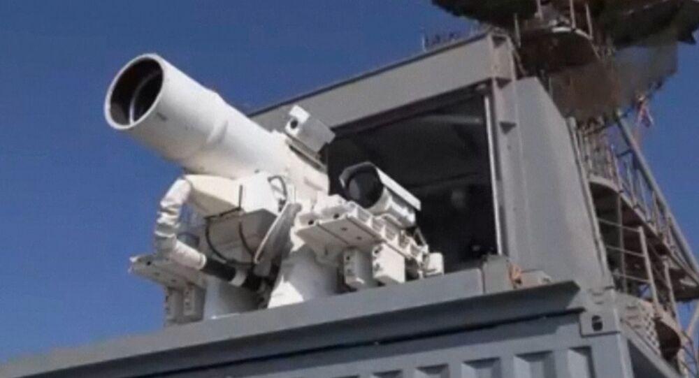 La marine américaine a détruit un drone au canon laser dans le golfe Persique