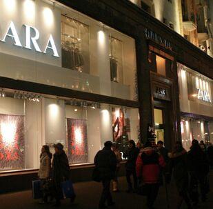Boutique Zara en Moscou