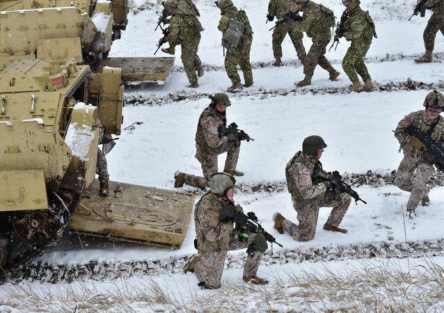 Des militaires de l'Otan en Lettonie