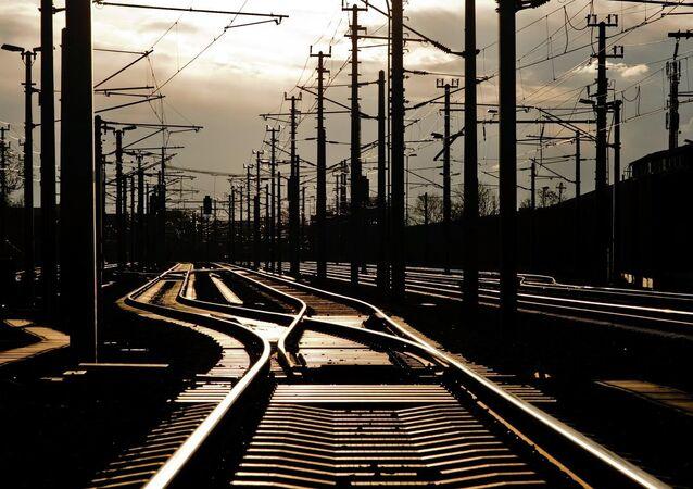 Un chemin de fer (Archives)