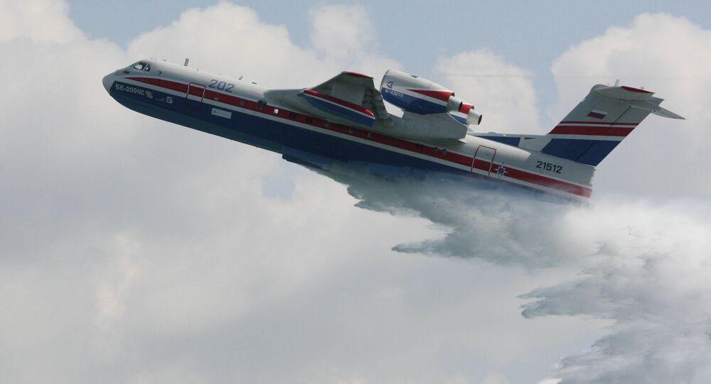 L'avion polyvalent Beriev Be-200