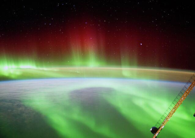 La Terre vue de la Station spatiale internationale