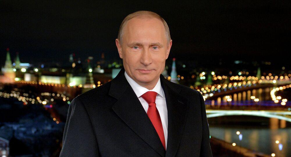 Les vœux du Nouvel An du président de la Russie aux Russes