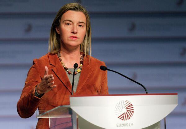 Chef de la diplomatie européenne Federica Mogherini - Sputnik France