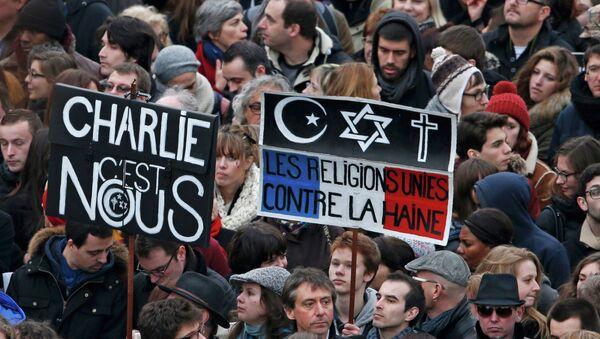 Марш единства в Париже - Sputnik France