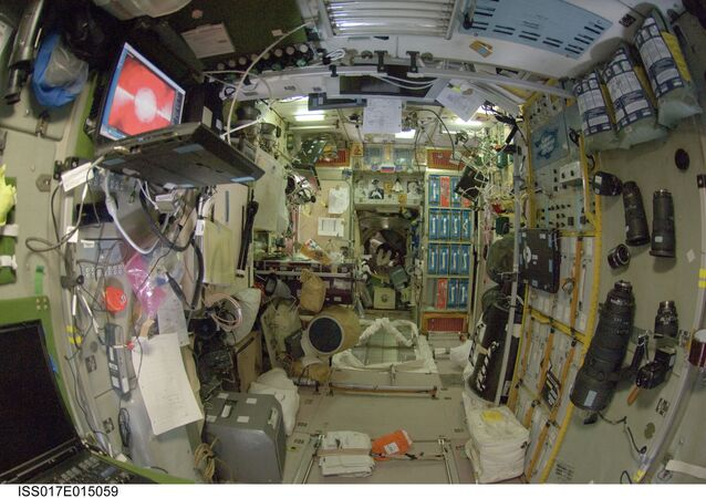 Le module Zvezda de l'ISS