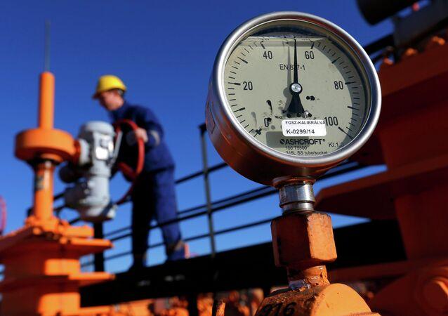 Le gisement de gaz