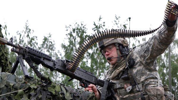 Военные учения войск НАТО в Литве - Sputnik France