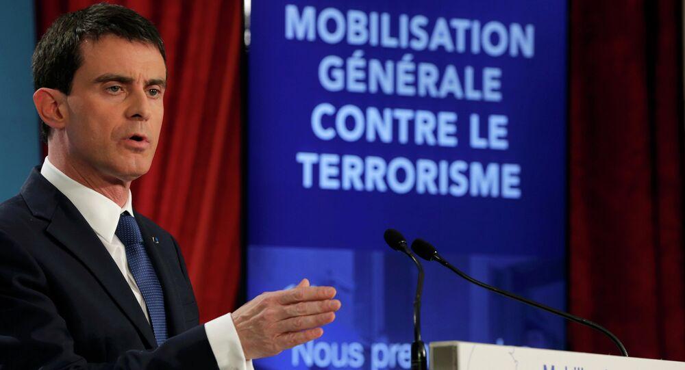 Manuel Valls. Archive photo