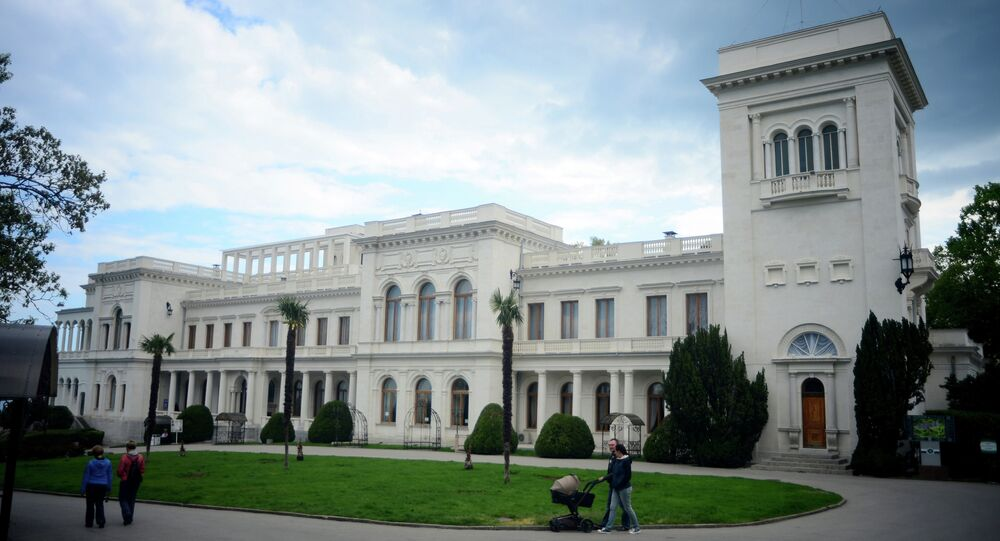 Le Palais de Livadie, en Crimée
