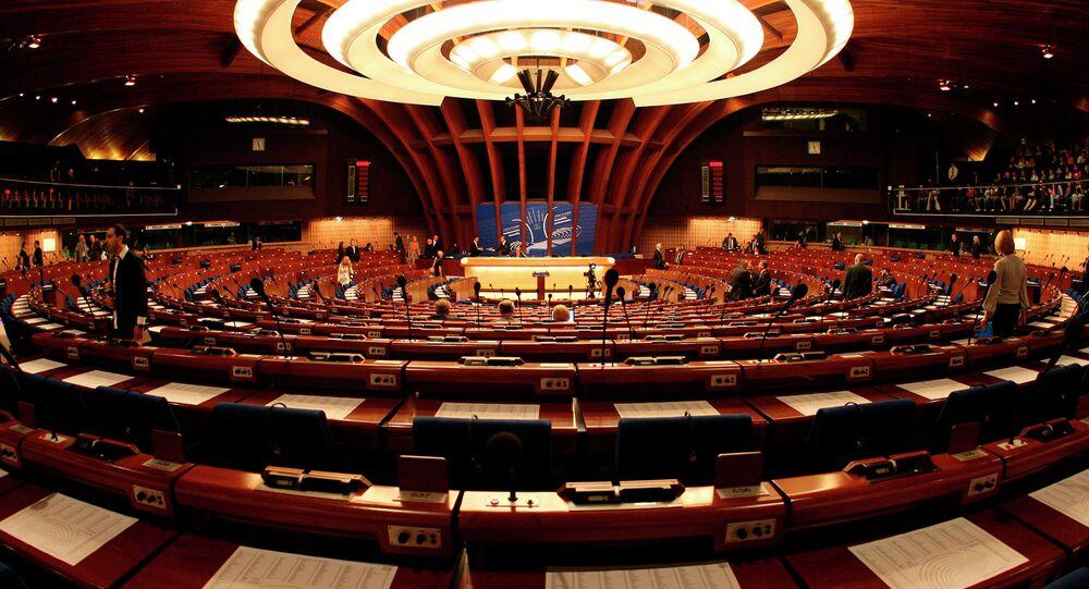 L'Assemblée parlementaire du Conseil de l'Europe (APCE)